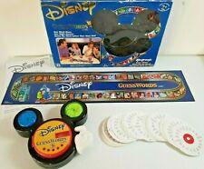 Mattel Disney guesswords Electronic Mickey Mouse Trivia Juego de Mesa 6+ Gratis P&P