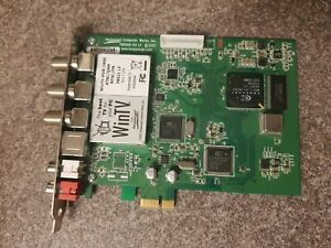 Hauppauge WinTV, HVR-1800 Model: 78521 LF PCI-e TV Tuner Card