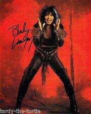 Blackie Lawless 8 x 10 Autograph Reprint W.A.S.P., New York Dolls, Hear 'n Aid