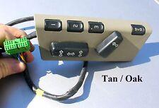 VOLVO S80 S60 V70 LH DRIVERS Seat Control Switch Part #39980252 TAN/OAK OEM