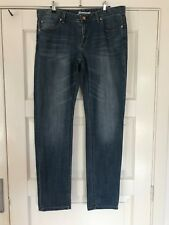 "Womens STRETCH JEANSWEST JEANS SIZE 14 ""BOYFRIEND"""