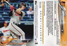 2018 Topps - Chance Sisco #185 - Rookie - Orioles