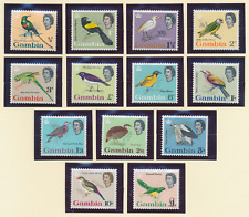 Gambia Stamps Scott #175 To 187, Mint Never Hinged