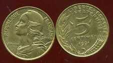 5  centimes MARIANNE   1991  SUP
