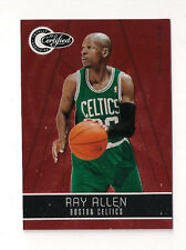 10/11 TOTALLY CERTIFIED RAY ALLEN TOTALLY RED PARALLEL 247/499