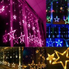 Star Fairy LED Curtain String Lights Garland Wedding Party Xmas Decor Lamp NEW