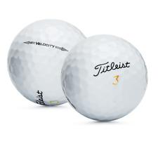 48 Titleist Velocity Used Golf Balls / Near Mint AAAA / Free Shipping