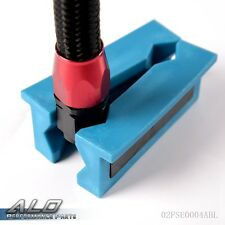 Plastic Vise Jaw Protective Inserts with Magnetic for AN Fittings Blue