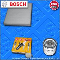 SERVICE KIT for FORD FOCUS MK2 1.4 16V OIL CABIN FILTERS SPARK PLUGS (2004-2010)