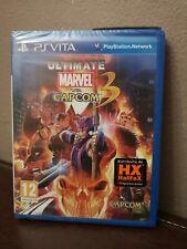 Ultimate Marvel Vs Capcom 3 Psvita NUOVO
