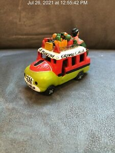 TAP-TAP BUS Hand Painted St Martin-Grand Case-Marigot