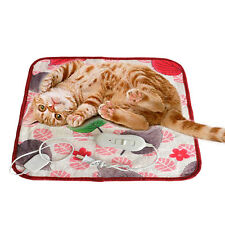 Pet Cat Warm Electric-Heat Heated Pad Blanket Mat Bed For Dog Cat Dog Nice New