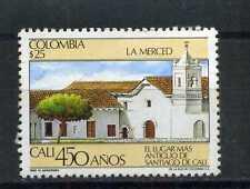CHURD OF LA MERCED-  CALI  1986   COLOMBIA MNH
