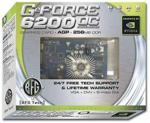 Bfg Geforce 6200OC Agp 256MB VGA Dvi Svid