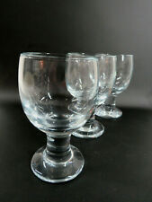 Holmegaard Kro Glas 3 x Rotweinglas 70er Jahre, signiert, Design Per Lütken