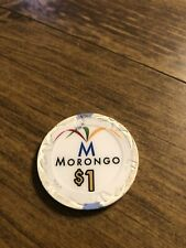 $1 morongo card room chip california casino chip shipping is 3.99