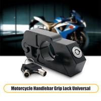 Lucchetto Blocca da Manubrio Leva Freno Moto Scooter ATV Antifurto Protezione
