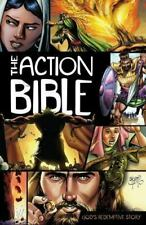 The Action Bible by Doug Mauss (2010, Hardcover)