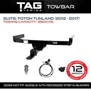 TAG Towbar Fits Foton Tunland 2012 - 2017 2500Kg Towing Capacity 4x4 4WD Exterio