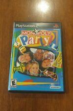 Monopoly Party (Sony PlayStation 2, 2002) MINT COMPLETE! PS2 MAIL IT TOMORROW!