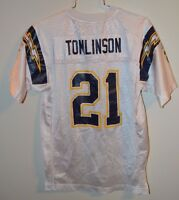 69cb49c3 NFL San Diego Chargers Tomlinson #21 Reebok On Field Jersey Youth ...