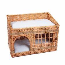 Wooden Basket Cat Den Cat House