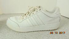 Mens ADIDAS  Non Marking Sole Durable Comfort White Athletic Shoes Size 17