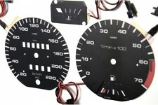 Volkswagen Golf MK2 / Jetta / Scirocco design 2 glow gauges dials plasma dials k