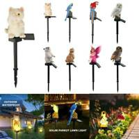 Solar Power LED Animal Lawn Light Outdoor Waterproof Garden Yard Landscape Lamp