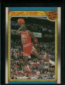 1988 Fleer Basketball #120 Michael Jordan All Stars Team Pack MINT FROM SET