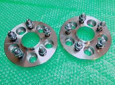 2 PC X HUB CENTRIC WHEEL SPACERS ADAPTER 5X100 54.1 CB 20MM TC COROLLA CELICA CT