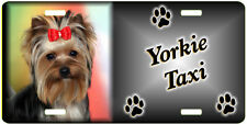 Yorkshire Terrier 3 Taxi Line License Plate ( Low Clearance Price )