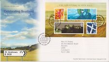 TALLENTS PMK GB ROYAL MAIL FDC 2006 CELEBRATING SCOTLAND SHEET NO INSERT