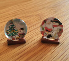 1/12 Dolls House miniature Christmas Plate Ornament Handmade Tree Decoration LGW