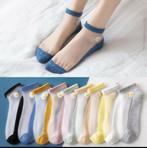 latest summer fashion trend women cotton Transparent Silk stockings