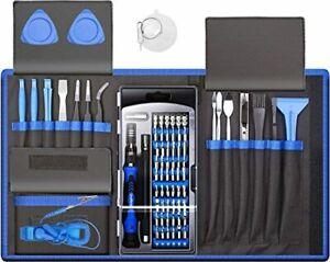 80 IN 1 Professional Computer Repair Tool Kit, Precision Laptop Screwdriver Set,
