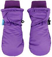 Winter Kids Boys Girls 3M Thinsulate Snow Mittens Waterproof Warm Ski Gloves