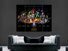 STAR WARS ANTHOLOGY MOVIE FILM GIANT POSTER PRINT LARGE PICTURE