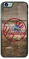 New York Yankees Baseball Wood Design Phone Case Cover for iPhone Samsung LG etc