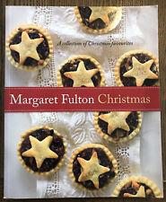 MARGARET FULTON - CHRISTMAS - PAPERBACK - COOKBOOK