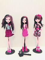 Monster High Lot Of 3 Draculaura Dolls - Adult Collector - FREESHIP!