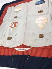 Bvlgari Davide Pizzigoni Hot Air Balloons Silk Scarf
