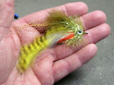 Darkes' Meat Wagon - Yellow Perch - Largemouth, smallmouth, pike fly!