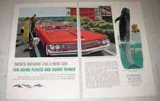 1960 GM Pontiac Bonneville Convertible Coupe Ad