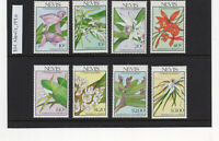 (GB335) Nevis - 1990 Christmas - Native Orchids MNH