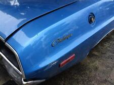 Dodge Challenger Rear Badge - 72 Challenger Rear 1/4 Badge - 72 Dodge Badge