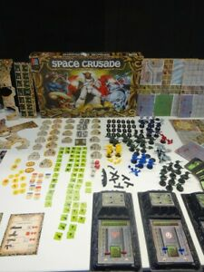 Space Crusade The Ultimate Encounter Warhammer MB Games 1990 -  ALMOST COMPLETE