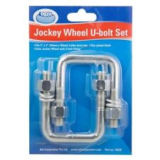 Ark Jockey Wheel U Bolt Set - Swivel, 50 x 50mm