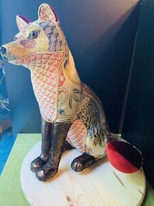 Decorative Fox Sculpture