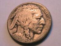 1920-S Buffalo Nickel 5C (G) Good Grade Nice Old Tone USA Indian Five Cent Coin